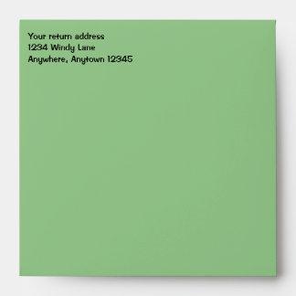 """Verde salvia 5,25"""" sobre"""
