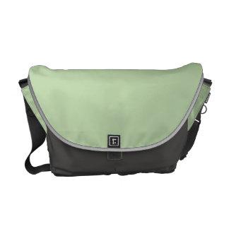 Verde salvia bolsas de mensajería