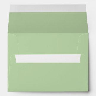 Verde salvia sobres