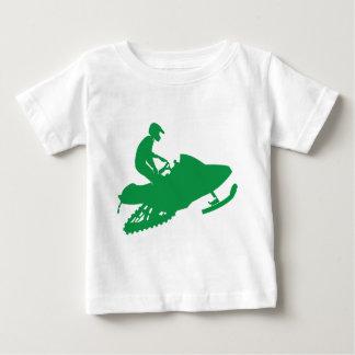 Verde-Snowmobiler Camisas