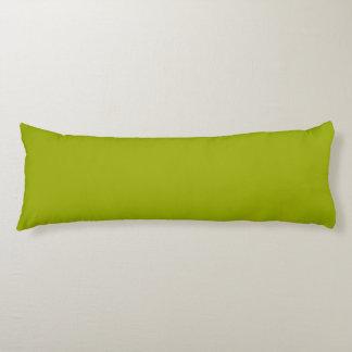 Verde sólido de Limeade Almohada Larga