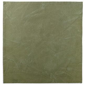 Verde sólido servilleta