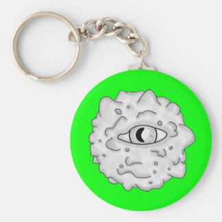 Verde sustancioso del Llavero del globo del ojo