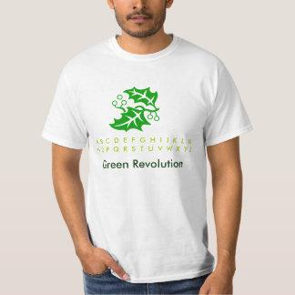 Verde T de la diversión del día de fiesta Polera