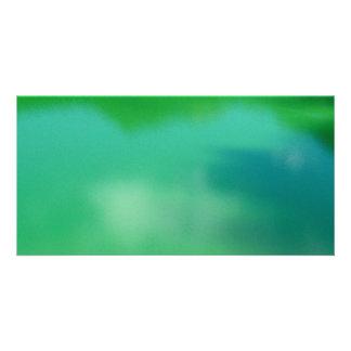 Verde Tarjeta Fotografica