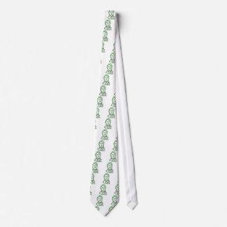 verde Thoreau-LY Corbata Personalizada