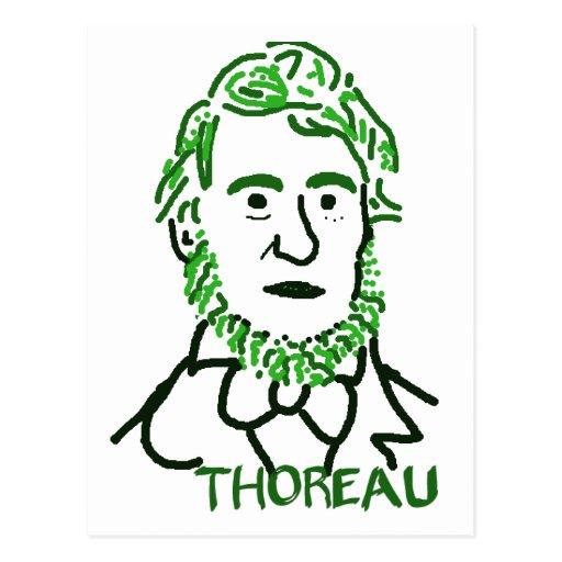 verde Thoreau-LY Tarjeta Postal