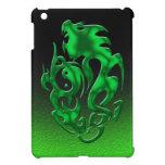 Verde torcido del dragón iPad mini protector