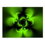 Verde torcido postales