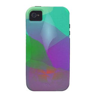 Verde translúcido de la camelia Case-Mate iPhone 4 fundas