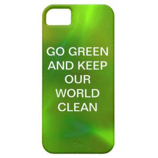 Verde translúcido funda para iPhone SE/5/5s