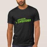 Verde universal del cráneo de Swoledier Camisetas