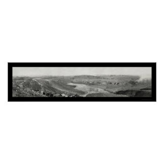 Verde Valley Jerome AZ Photo 1916 Poster