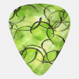 verde vanguardista del fondo de la pintura de la plectro