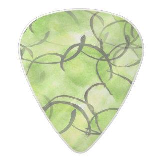 verde vanguardista del fondo de la pintura de la plectro de acetal