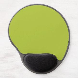 Verde. Verde del ácido. Tendencias elegantes del c Alfombrillas De Raton Con Gel