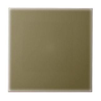 Verde verde oliva baldosa cerámica teja cerámica