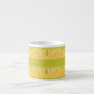 Verde verde oliva, energía solar, taza de Expresso Taza Espresso