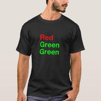 Verde verde rojo playera