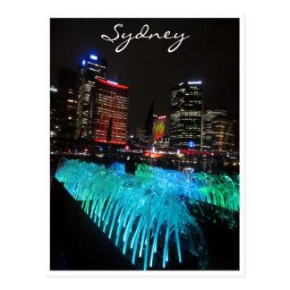 verde vivo de Sydney Tarjetas Postales