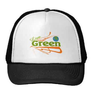 verde vivo del planeta gorro