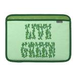Verde vivo fundas MacBook