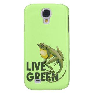 Verde vivo lagarto