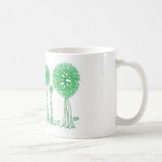 Verde vivo taza