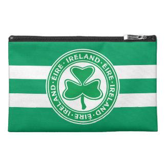 Verde y blanco del trébol de Irlanda Éire