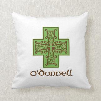 Verde y Brown del logotipo de O'Donnell Almohadas