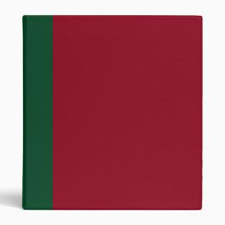Verde y carpeta Dos-Entonados de Borgoña