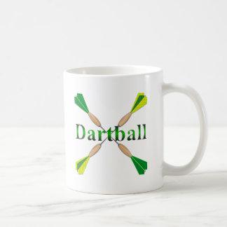 Verde y dardos de Dartball del oro Taza