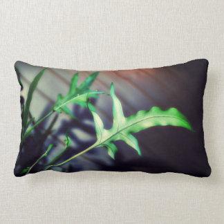 verde y feliz almohadas