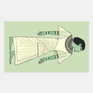 VERDE y pegatina egipcio antiguo DE MARFIL del