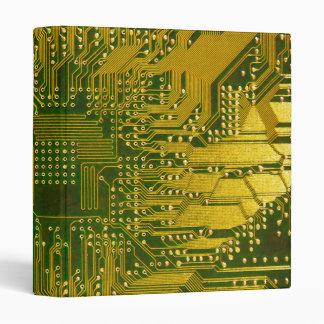 """Verde y placa de circuito del ordenador carpeta 1"""""""