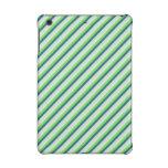 Verde y rayas de la diagonal del trullo
