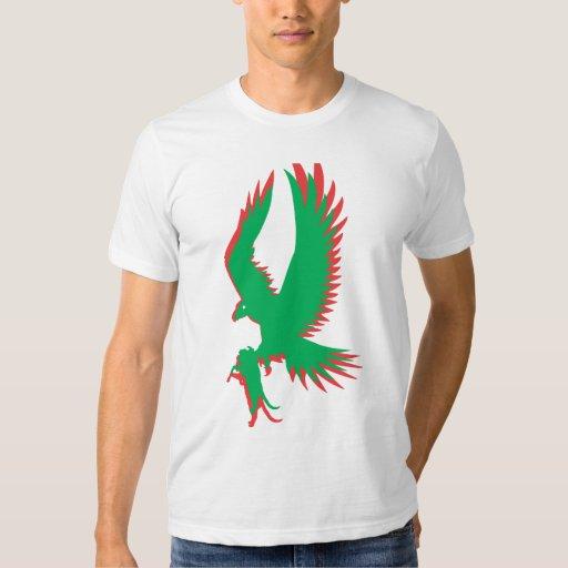 Verde y rojo de PHawk T Poleras