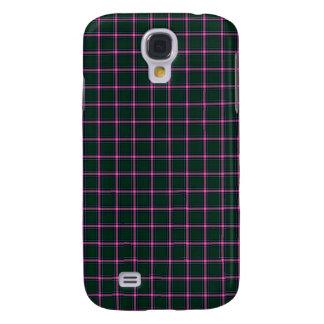Verde y y caso duro vivo de HTC del tartán rosado