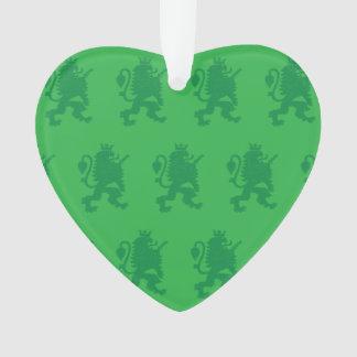 Verdes coronados del león