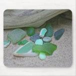 Verdes de la playa alfombrilla de ratón