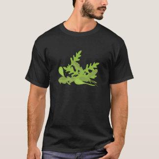 Verdes del Arugula Playera