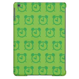 Verdes del despertador funda para iPad air