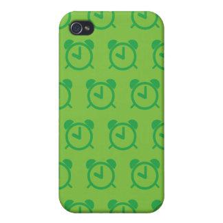 Verdes del despertador iPhone 4/4S carcasa