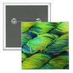 Verdes del hilado de ColourSpun Handyed Pins