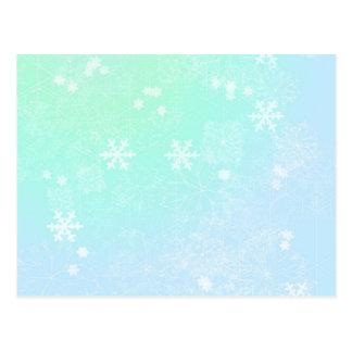 Verdes en colores pastel del navidad tarjetas postales