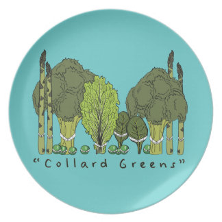 Verdes formales de la col com n platos