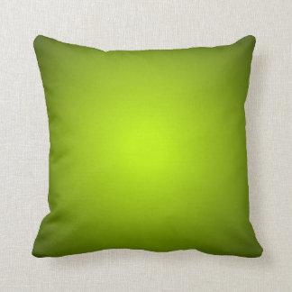 Verdes naturales calientes almohadas