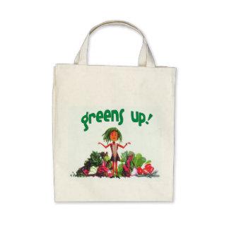 ¡verdes para arriba! la bolsa de asas orgánica
