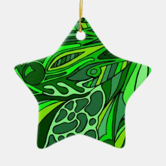 Verdes siete ornamentos para reyes magos