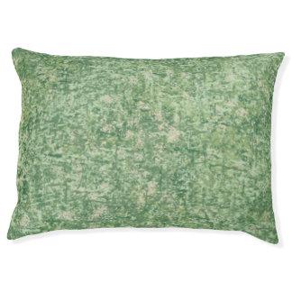 Verdes texturizados cama para perro grande